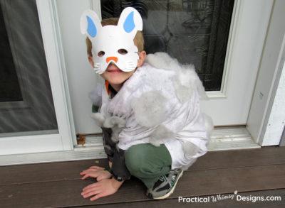 Dust bunny costume