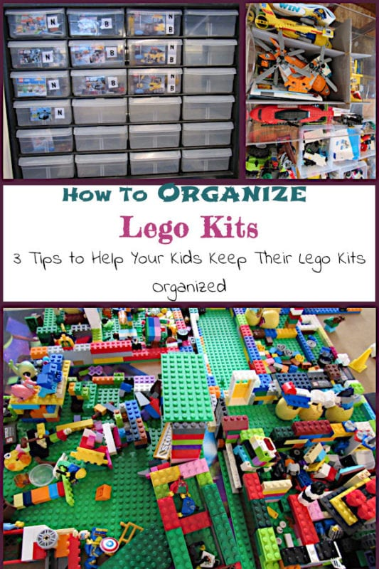 How to Organize Lego Kits: 3 Tips to Help Your Kids Keep Their Lego Kits Organized