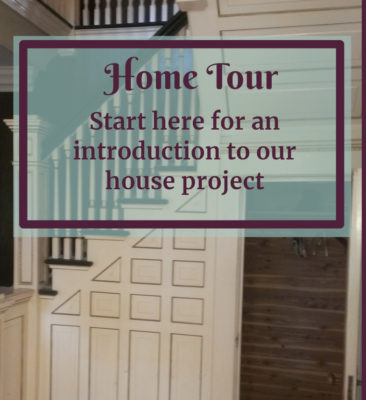 Home tour picture for DIY and Home Decor blog