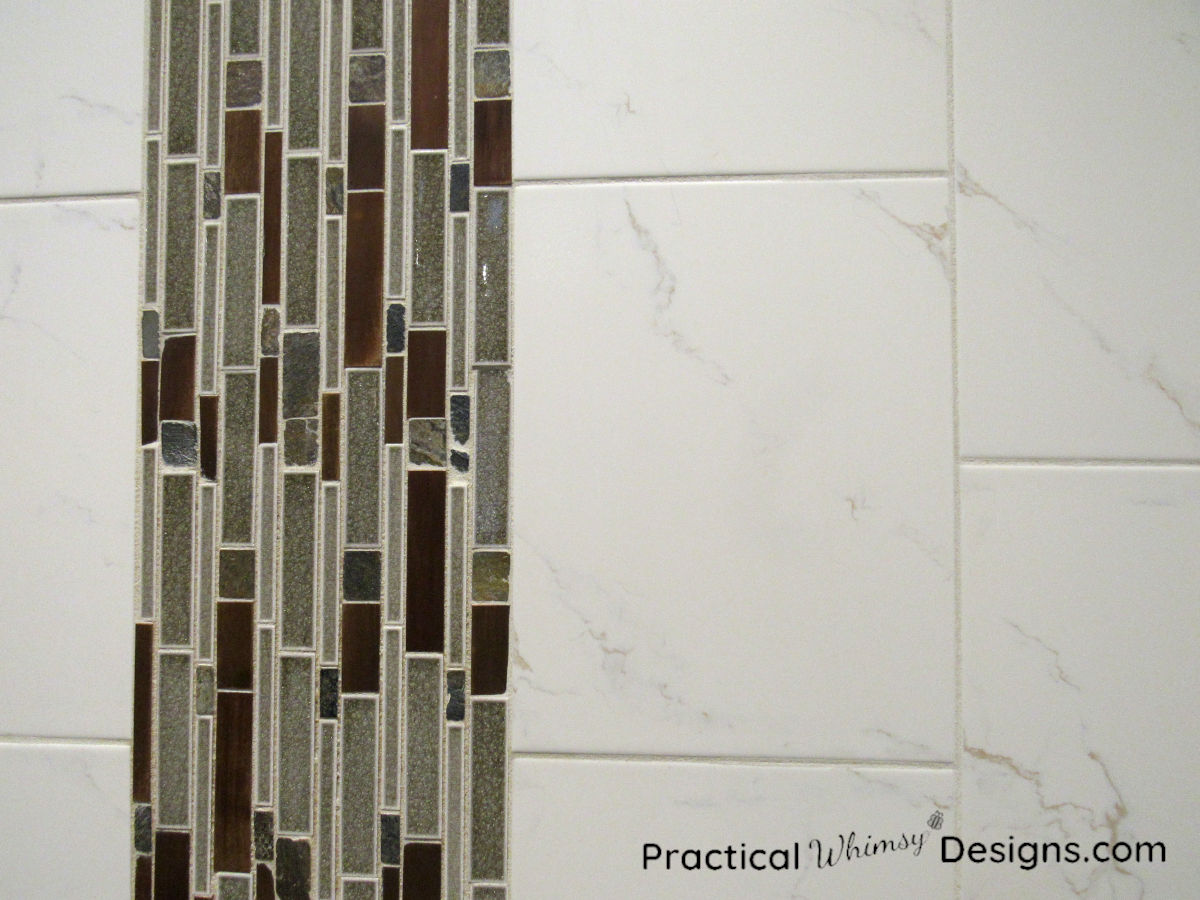 Tiling on wall