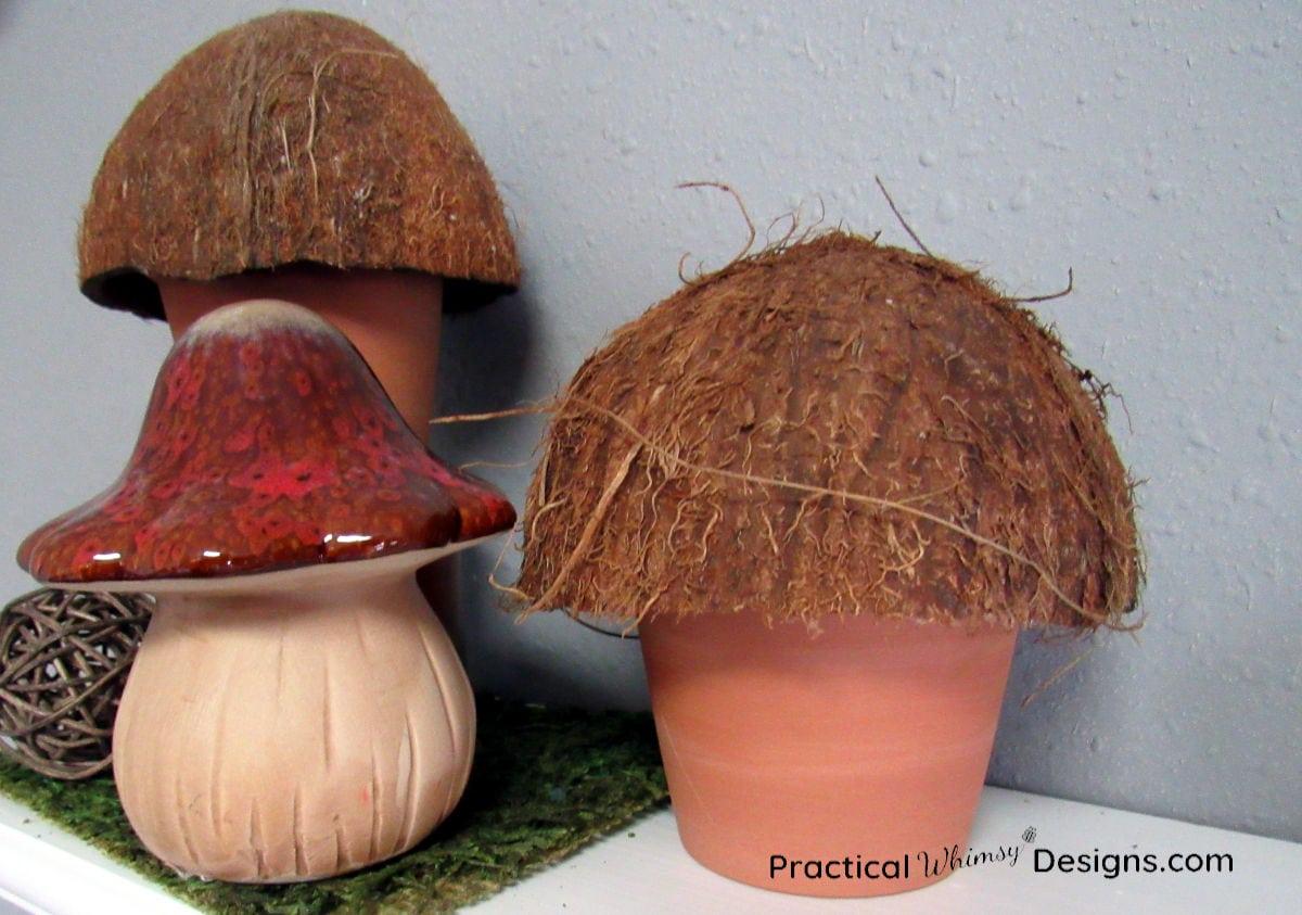 DIY Mushroom decor