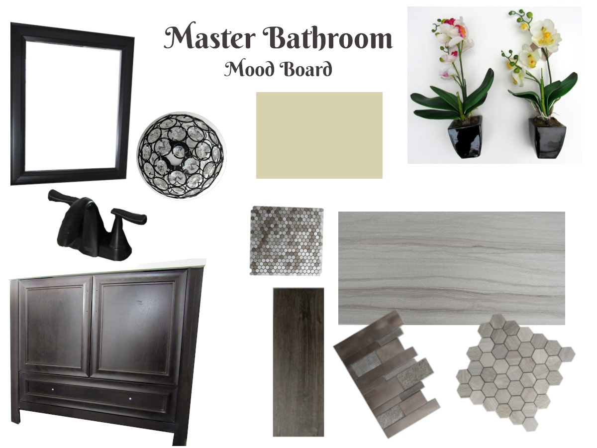 Master Bathroom Mood Board