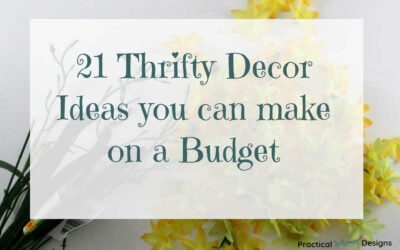 21 Thrifty Decor Ideas you can make on a budget