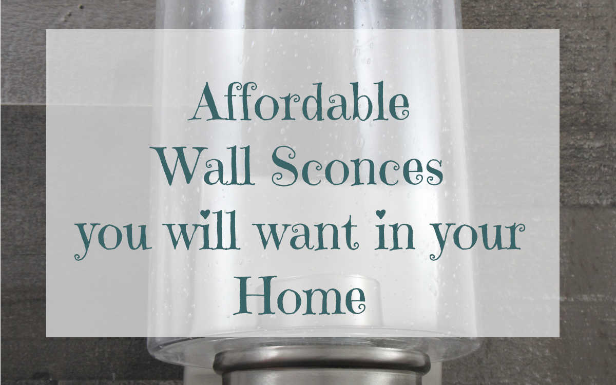 Affordable wall sconces you will want in your home