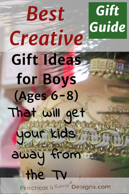 Creative gift ideas for boys
