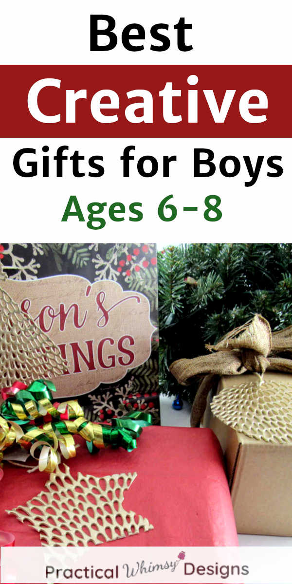 Best Creative Gifts for Boys Ages 6-8 wrapped presents