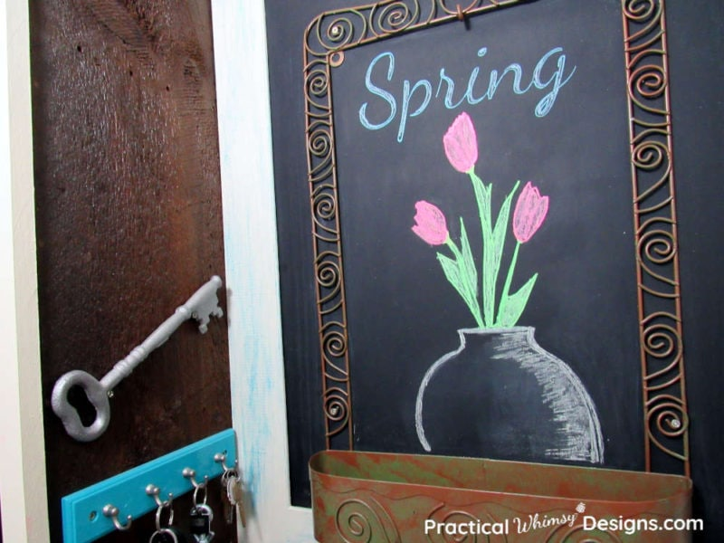 DIY Spring decorations with stencils