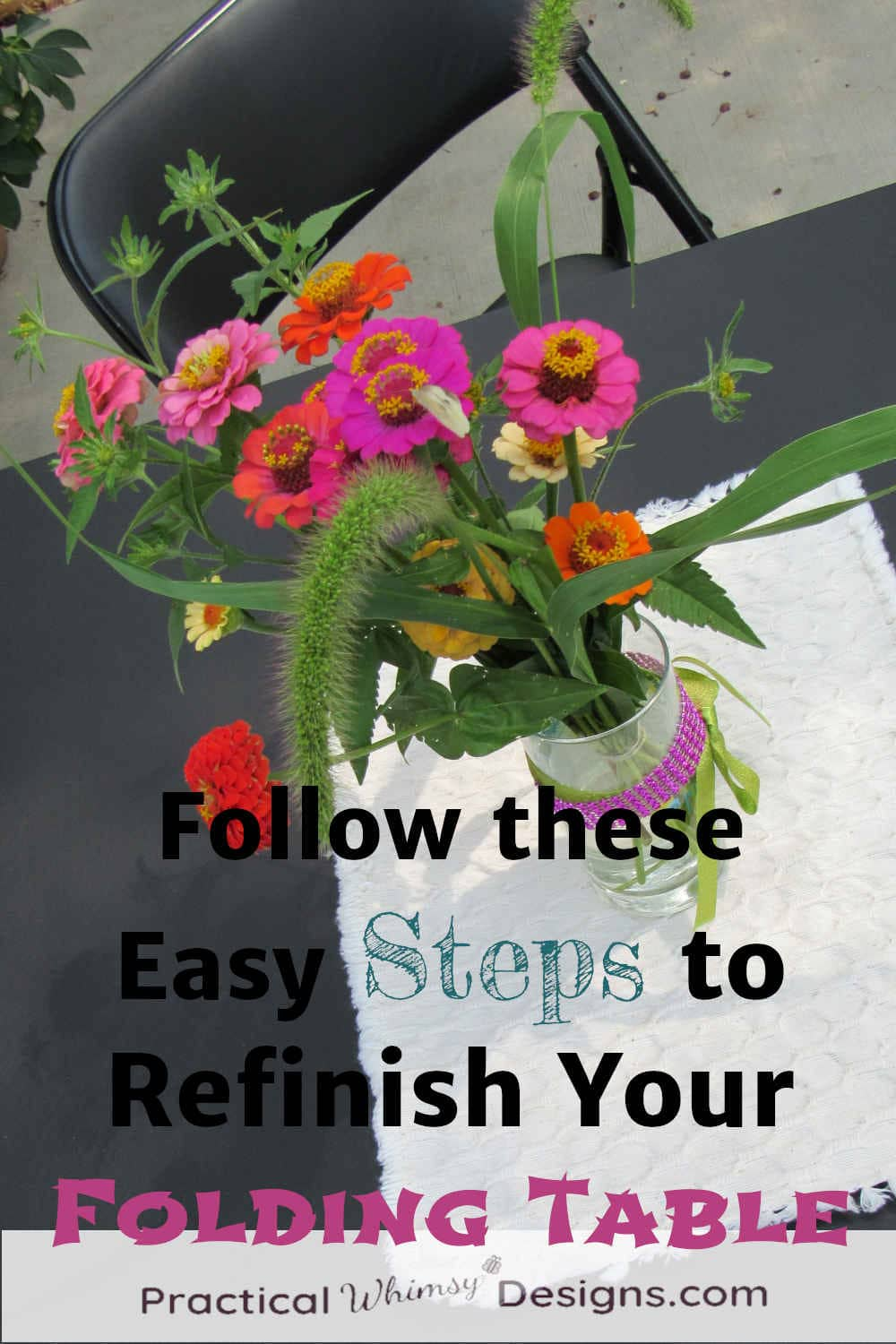 Follow These Easy Steps to Refinish Your Folding Table