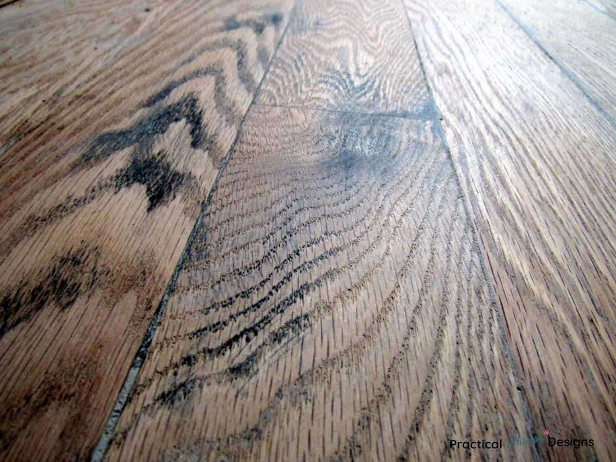 Prepare for new flooring: hardwood floor