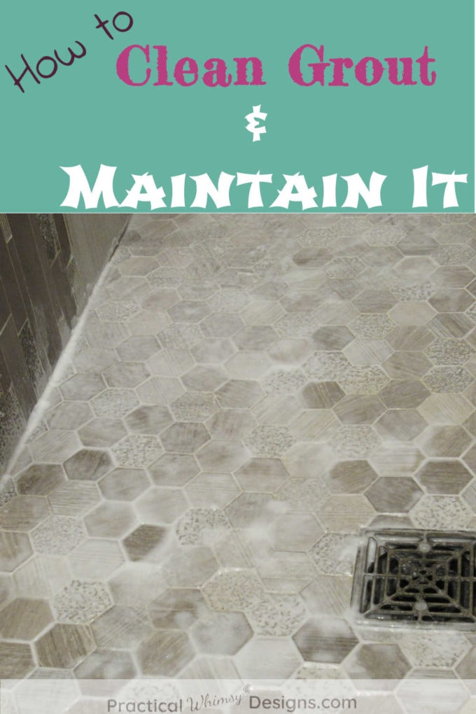 Shower tile: How to clean grout and maintain it