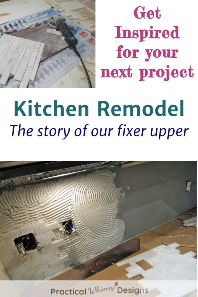Kitchen Remodel Projects: The story of our fixer upper