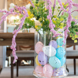 One minute Dollar tree Easter decoration.