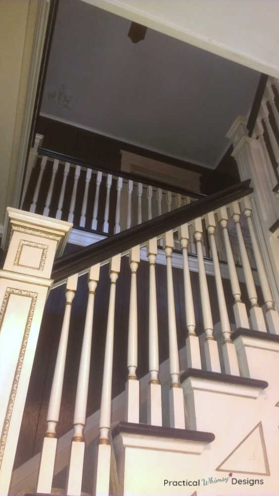 Looking upstairs before remodeling