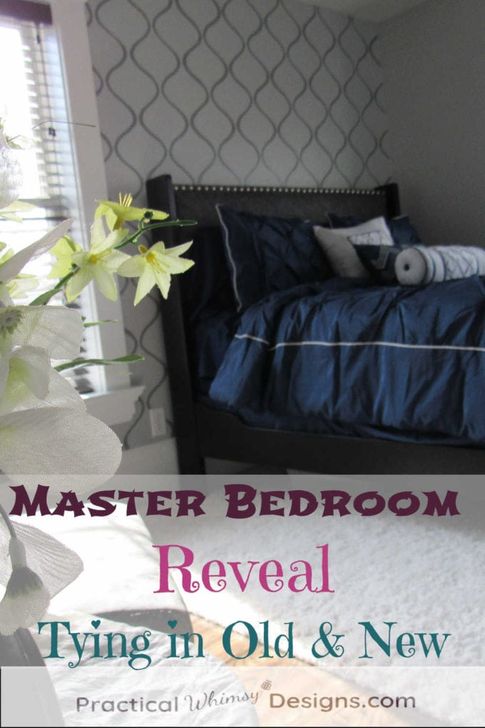 Master bedroom reveal: tying in old and new