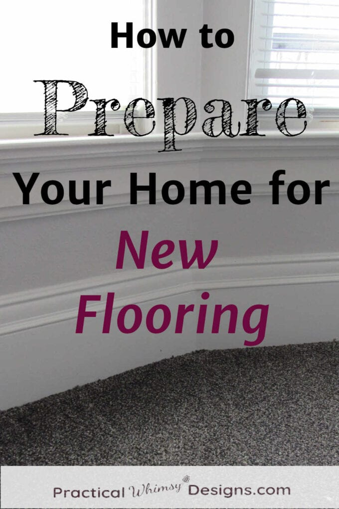 How to prepare your home for new flooring