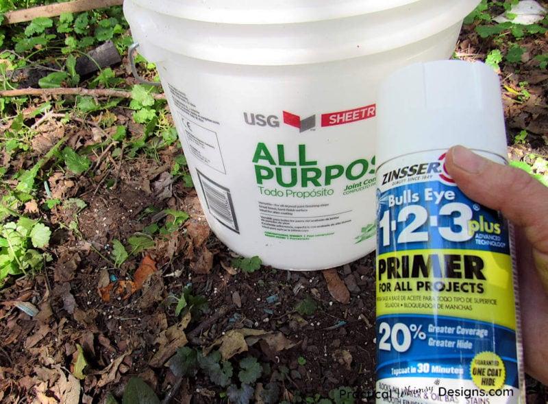Priming 5 gallon bucket