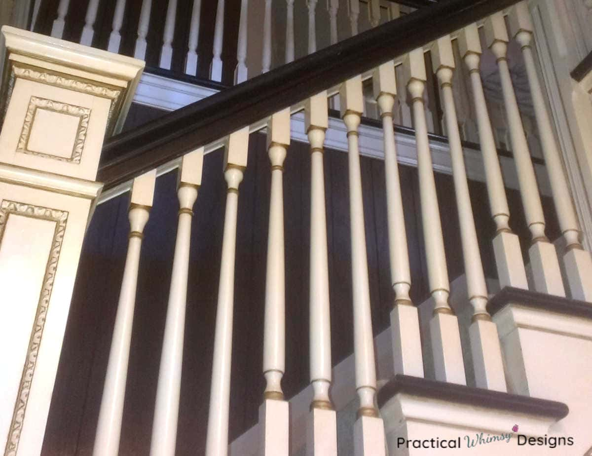 Stairs area railing