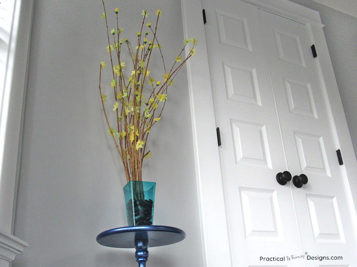 Simple branch dollar tree decor