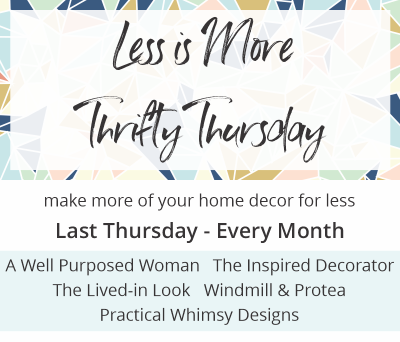 Less is More Thrifty Thursday Logo