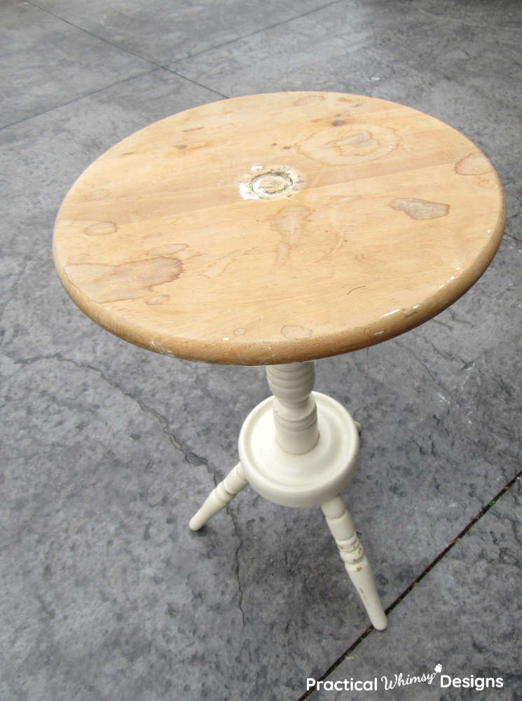 Unfinished side table